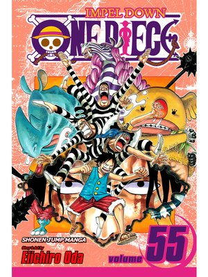 cover image of One Piece, Volume 55