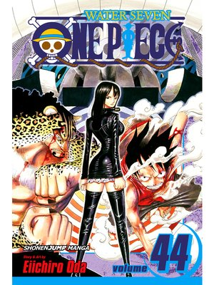 cover image of One Piece, Volume 44