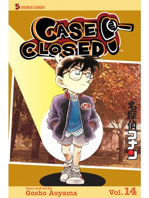 cover image of Case Closed, Volume 14