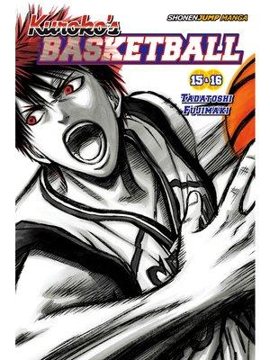cover image of Kuroko's Basketball, Volume 8
