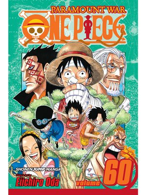 cover image of One Piece, Volume 60