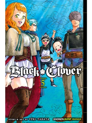 cover image of Black Clover, Volume 5