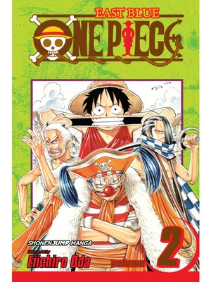 cover image of One Piece, Volume 2