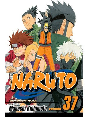 cover image of Naruto, Volume 37