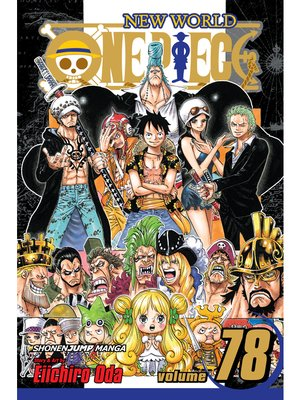 cover image of One Piece, Volume 78