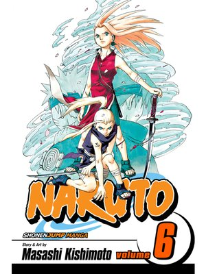 cover image of Naruto, Volume 6