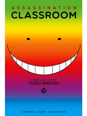 cover image of Assassination Classroom, Volume 10
