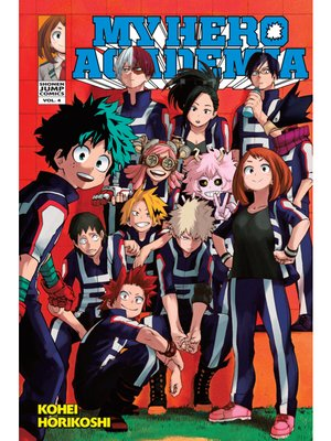 cover image of My Hero Academia, Volume 4