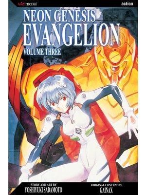 cover image of Neon Genesis Evangelion, Volume 3
