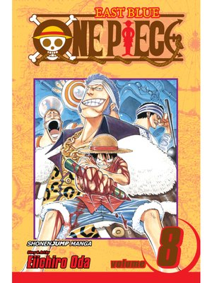 cover image of One Piece, Volume 8