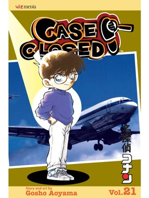 cover image of Case Closed, Volume 21