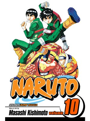 cover image of Naruto, Volume 10