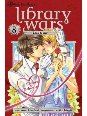 cover image of Library Wars: Love & War, Volume 8