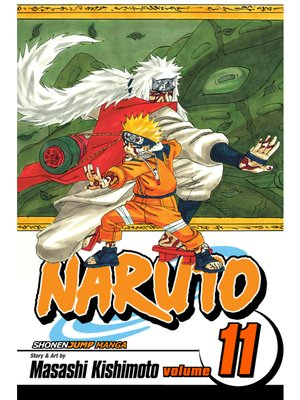 cover image of Naruto, Volume 11