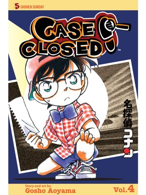 cover image of Case Closed, Volume 4