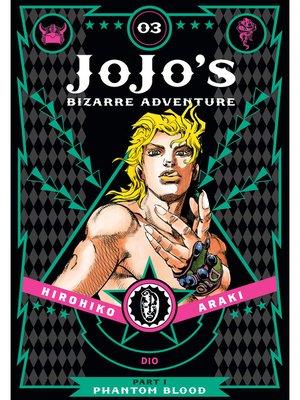 cover image of JoJo's Bizarre Adventure: Part 1 - Phantom Blood, Volume 3