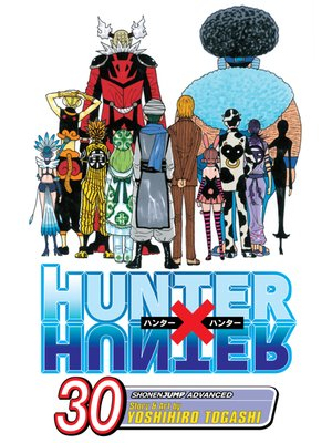 cover image of Hunter x Hunter, Volume 30