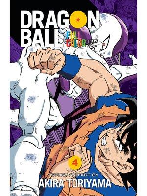 cover image of Dragon Ball: Full Color Freeza Arc, Volume 4