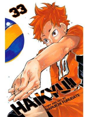 cover image of Haikyu!!, Volume 33