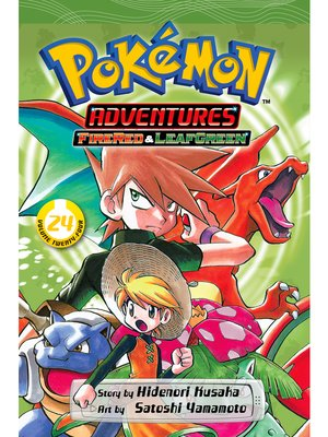 cover image of Pokémon Adventures, Volume 24