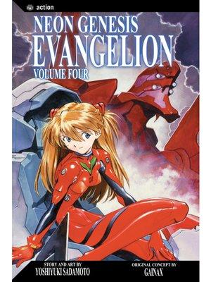 cover image of Neon Genesis Evangelion, Volume 4