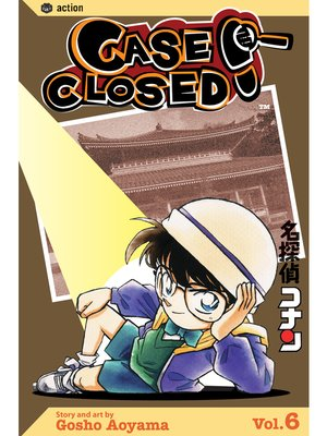 cover image of Case Closed, Volume 6