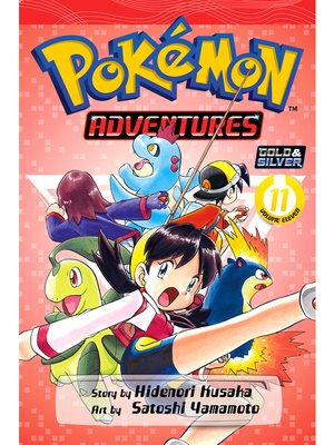 cover image of Pokémon Adventures, Volume 11