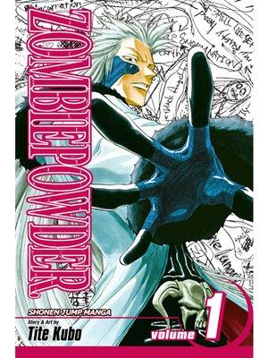 cover image of ZOMBIEPOWDER., Volume 1
