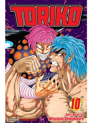 cover image of Toriko, Volume 10