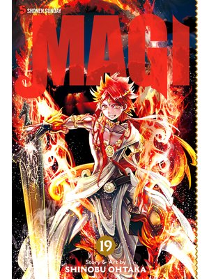cover image of Magi: The Labyrinth of Magic, Volume 19