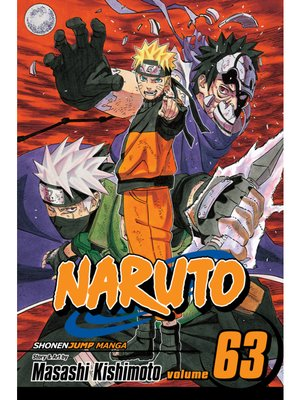 cover image of Naruto, Volume 63