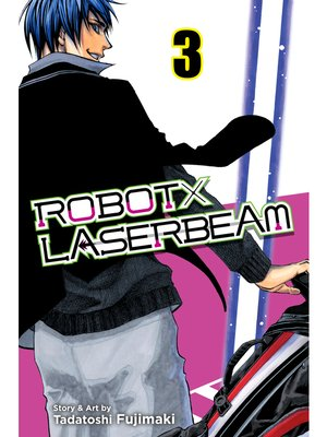 cover image of ROBOTxLASERBEAM, Volume 3