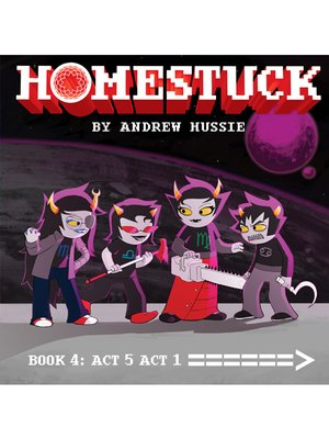 cover image of Homestuck, Book 4