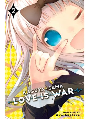 cover image of Kaguya-sama: Love Is War, Volume 2