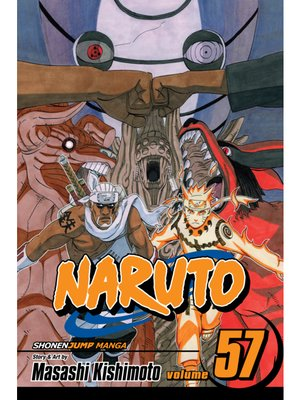 cover image of Naruto, Volume 57