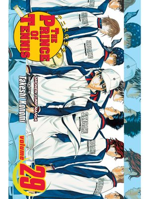 cover image of The Prince of Tennis, Volume 29