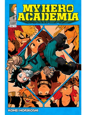 cover image of My Hero Academia, Volume 12