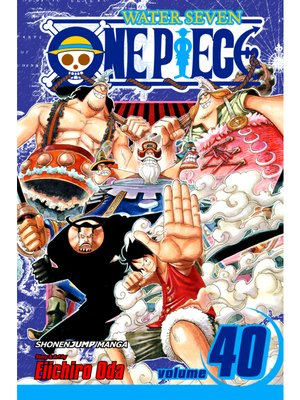 cover image of One Piece, Volume 40