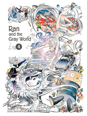 cover image of Ran and the Gray World, Volume 4