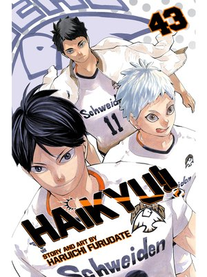 cover image of Haikyu!!, Volume 43