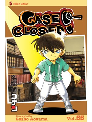 cover image of Case Closed, Volume 55