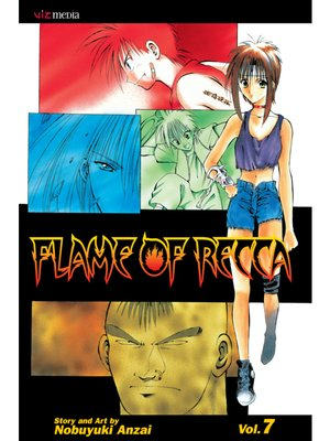 cover image of Flame of Recca, Volume 7