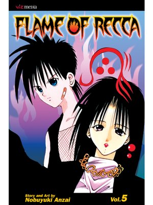 cover image of Flame of Recca, Volume 5