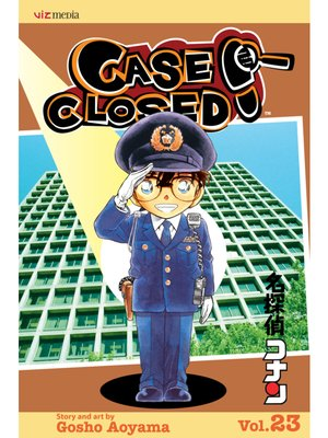 cover image of Case Closed, Volume 23
