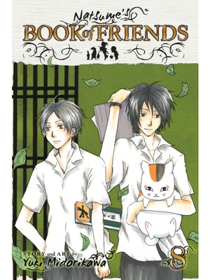 cover image of Natsume's Book of Friends, Volume 8