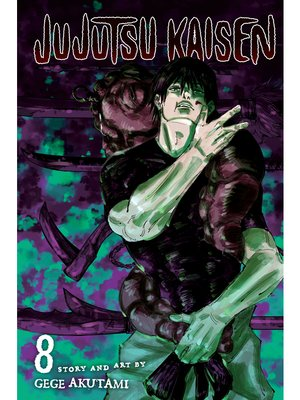 cover image of Jujutsu Kaisen, Volume 8