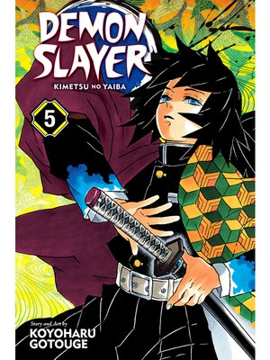 cover image of Demon Slayer: Kimetsu no Yaiba, Volume 5