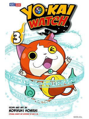 cover image of YO-KAI WATCH, Volume 3