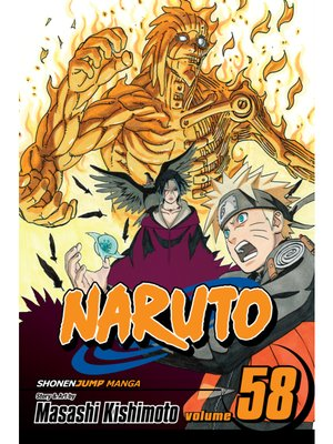 cover image of Naruto, Volume 58