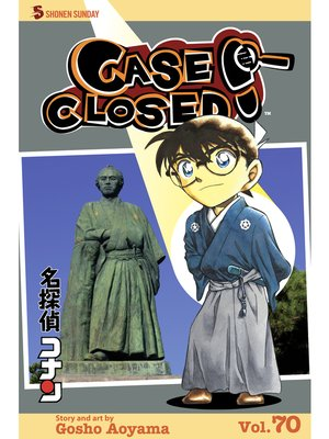 cover image of Case Closed, Volume 70